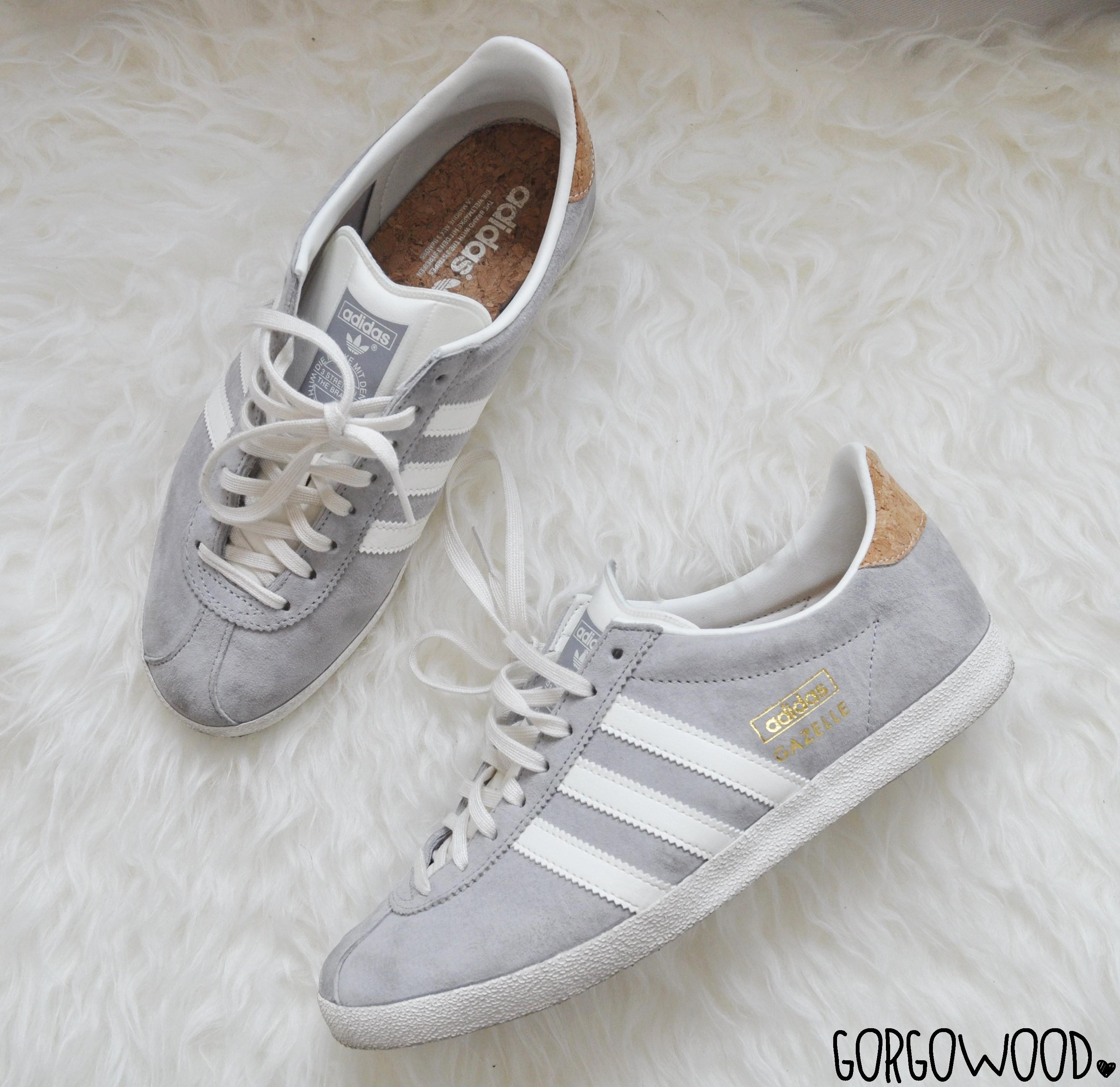 zapatillas adidas gazelle gris mujer
